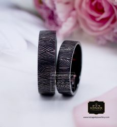cincin kawin hitam klasik