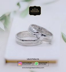Cincin Kawin Exclusive Platinum Palladium PT0064PD