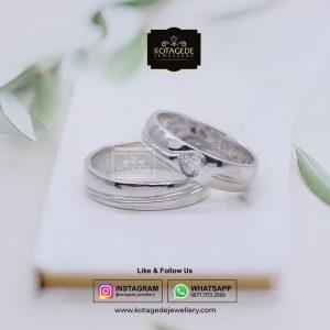 Cincin Kawin Exclusive Platinum Palladium PT0064PD