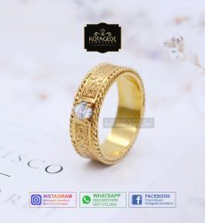 Cincin Wanita Exclusive Emas Kuning Yellow Gold YG0075