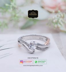 Cincin Wanita Exclusive Rose Gold Palladium RG0084PD