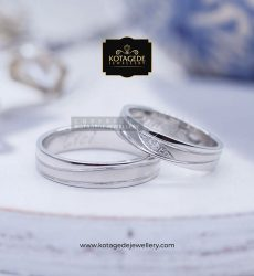 Cincin Kawin Tunangan Palladium Couple Exclusive PD0074