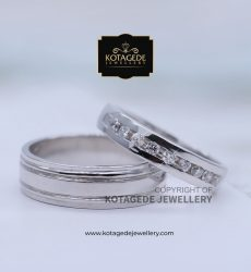 Cincin Kawin Tunangan Palladium Platinum Exclusive PD0089PT