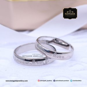 Cincin Kawin Tunangan Palladium Exclusive Couple PD0087