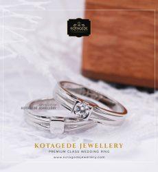 Cincin Kawin Tunangan Platinum Couple PT0027