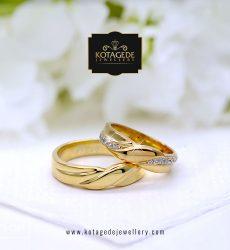 Cincin Kawin Tunangan Emas Kuning YG0117YG