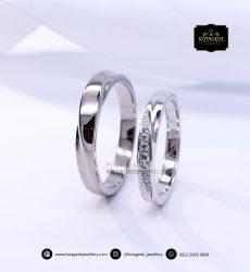 Cincin Kawin Tunangan Couple Platinum PT0144PT