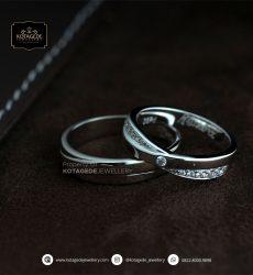 Cincin Kawin Tunangan Platinum Couple PT0167PT