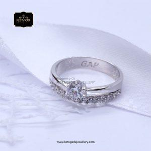 Cincin kawin Tunangan Diamond Platinum PT0150