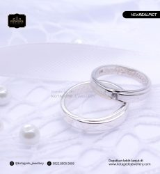 Cincin Kawin Tunangan Palladium Couple Elegant PD0205PD