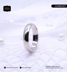Cincin Kawin Tunangan Palladium Simple PD0198