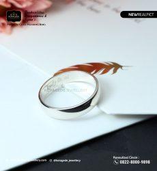 Cincin Kawin Tunangan Emas Putih WG0216