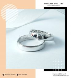 Cincin Kawin Tunangan Palladium Couple PD0244PD