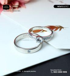 || BonusCincin Kawin Tunangan Palladium Diamond Couple PD0217PD Belanja : Free Ukir Nama Laser & Free Ongkir se-Indonesia || WA : 0821 8000 9090