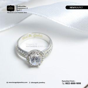 Cincin Kawin Tunangan Platinum Diamond PT0214PT