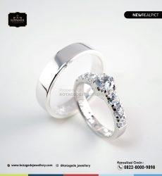 Cincin Kawin Tunangan Platinum Elegant PT0239PT