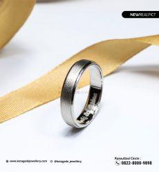 Cincin Kawin Tunangan Platinum PT0227