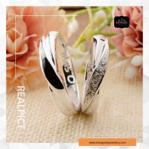 Cincin Kawin Tunangan Platinum Couple PT0263PT