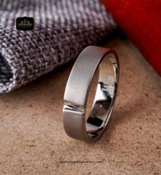 Cincin Kawin Tunangan Platinum Doff Elegant PT0259