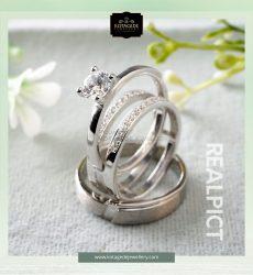 gambar cincin nikah elegan