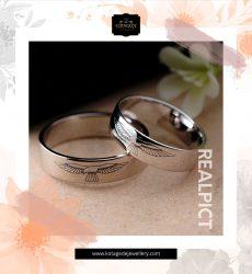 Cincin Kawin Tunangan Platinum Couple PT0269PT
