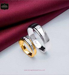 cincin pernikahan emas platidium