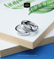 Cincin couple sidik jari