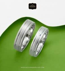 Cincin-Kawin-Tunangan-Platidium Lis CouplePD0300WG