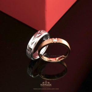 Cincin Kawin Tunangan Couple Elegan PTD0315YG