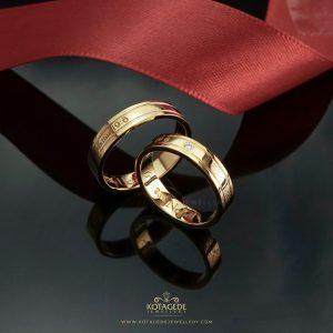 Cincin Kawin Tunangan Emas Couple YG0312YG