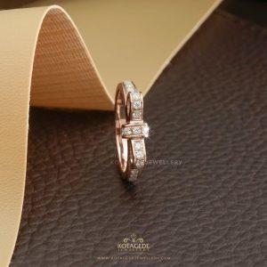 Cincin Kawin Tunangan Rosegold Pita RG0311