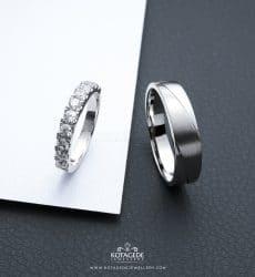 cincin kawin tunangan eternity elegan ptd0316wg