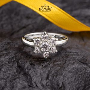 Cincin Kawin Tunangan Emas Putih WG0437
