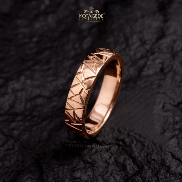 Cincin Kawin Tunangan Rosegold RG0438